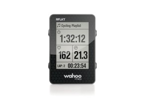 Wide screen, big numbers and multiple, thumb-tab mounts makes the Wahoo RFLKT a great product.