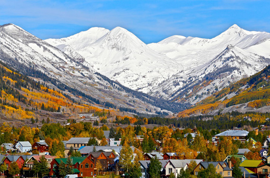 Iconic Colorado mountain town, Crested Butte will welcome riders at the end of day four.