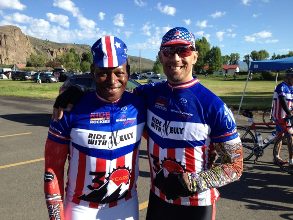 Olympic silver medalist and US Pro Track Champion Nelson Vails in Gunnison.