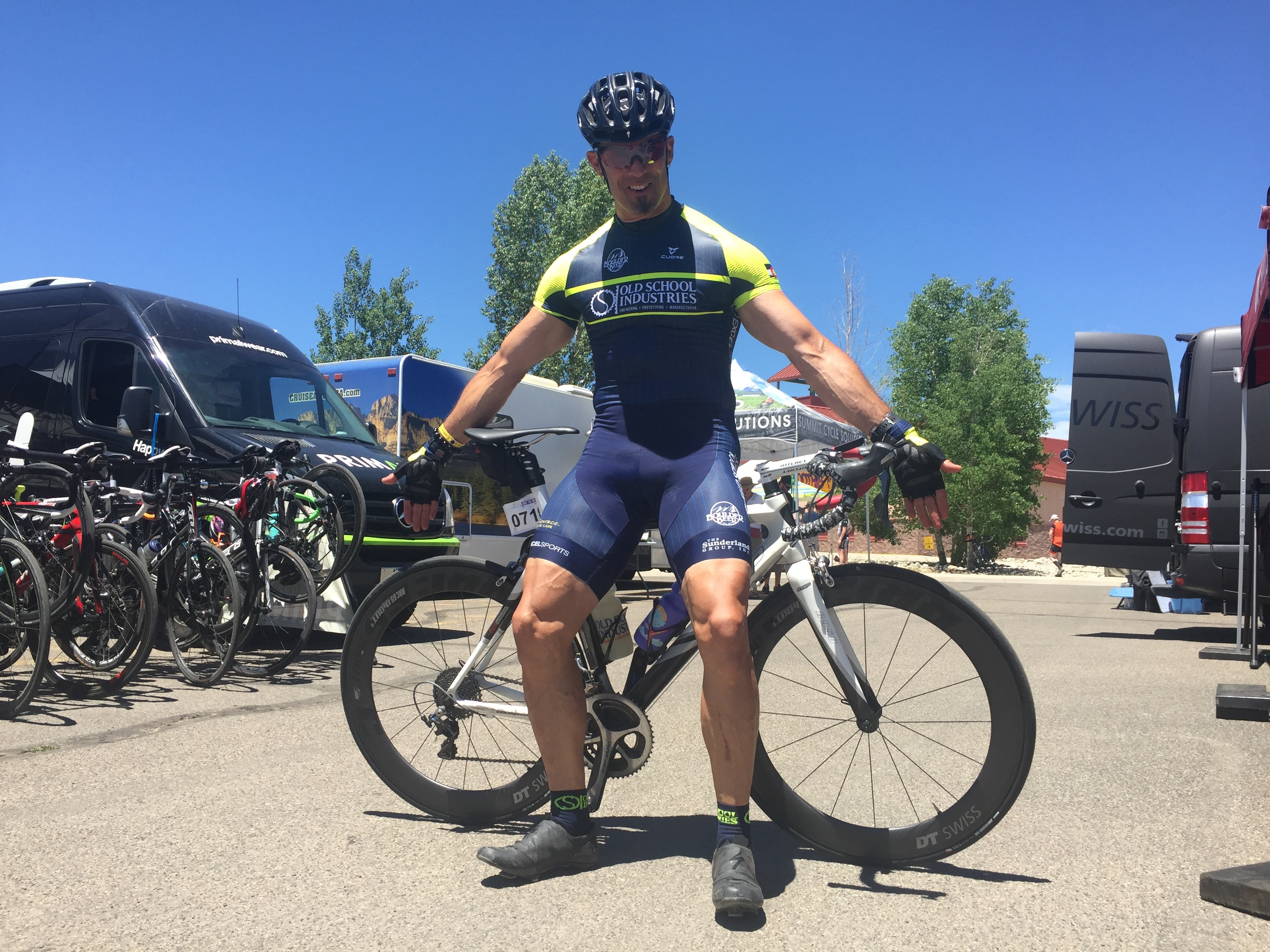 The sixth day finishing town of Gunnison welcomed the ride for the third  time in six tours. e90e7e236